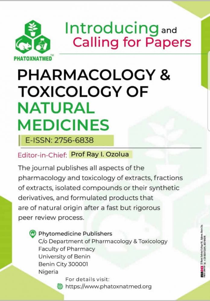 Pharmacology & Toxicology of Natural Medicines