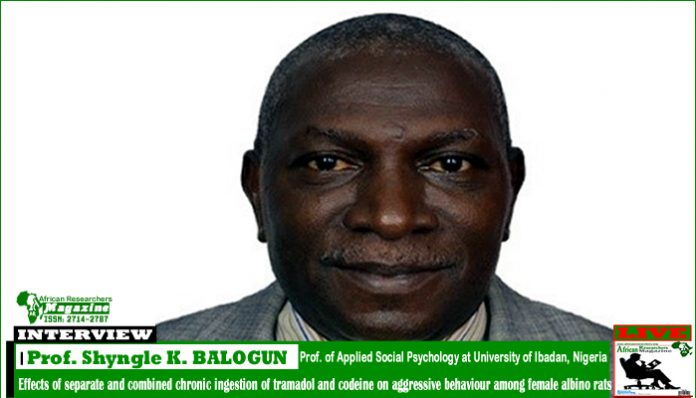 AR Interview with Prof. Shyngle Kolawole BALOGUN
