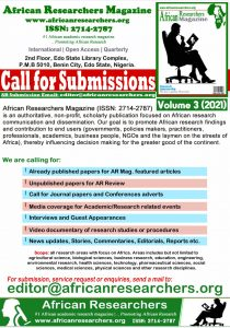 AR Magazine Call for Submissions and Papers 2021