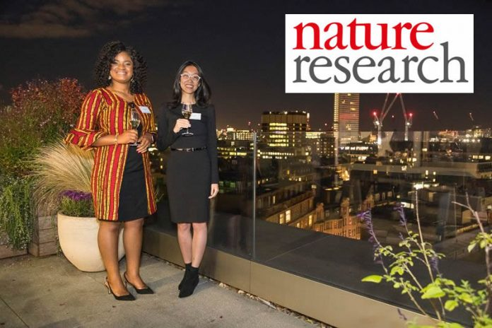 Doreen Anene and Jean Fan won the 2019 Nature Research awards for inspiring and innovating science