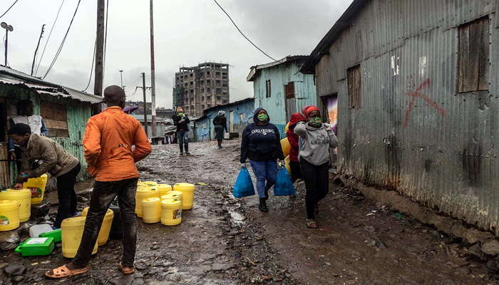 Urban slums in Africa and COVID-19