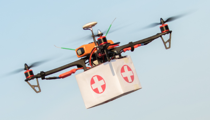 Importance of Drones in Healthcare Delivery Amid a Pandemic: Current and Generation Next Application