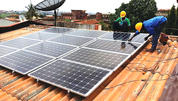Research on mono- and poly-crystalline solar panel performance under low and high sun irradiance in Kumasi, Ghana